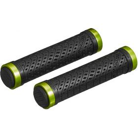 Sixpack K-Trix Lock-On Chwyty rowerowe - gripy, czarny/zielony